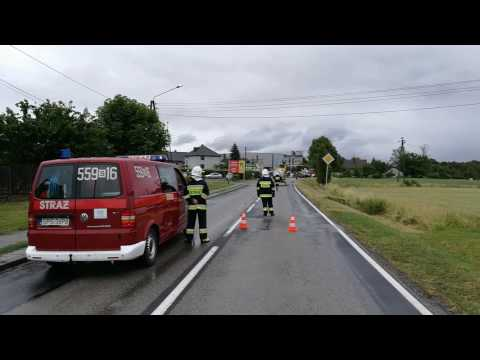 Wypadek W Porębie 2.07.2017