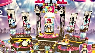 Pop Star Show Stage / Scena Gwiazdy Pop - Lego Friends - 41105 - Recenzja