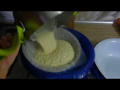 Как сделать домашний сыр из творога без заквасок // Жизнь в деревне