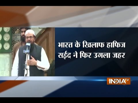 'Kashmir Banega Pakistan', Says JuD Chief Hafiz Saeed