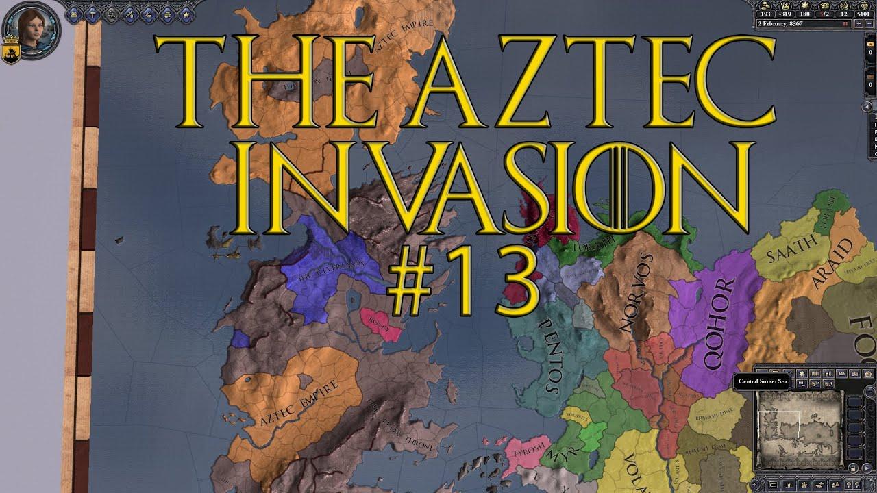 Aztec Sunset Invasion 13 Aztec Invasion