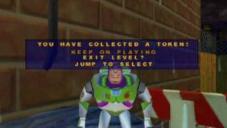 Toy Story 2 Walkthrough Level 5: Alleys and Gullies