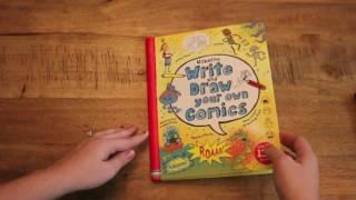 Write And Draw Your Own Comic & Write Your Own Story Book