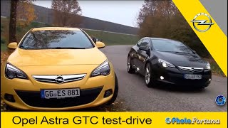 Opel Astra GTC  test drive