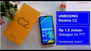 Rp 1.499.000 ! Unboxing Realme C2 Indonesia, Hands On, Test Kamera & Antutu
