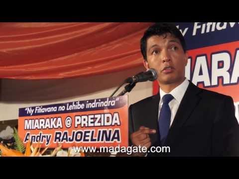 Andry Rajoelina. Cohabitation? 21.02.2014
