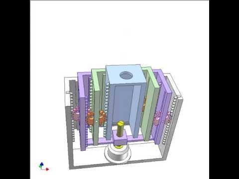 ギヤやカム運動などの多彩で実用的な動きをモデリングした映像
