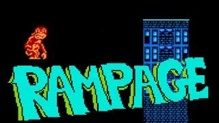 Rampage (NES) longplay [Full Playthrough No Commentary]