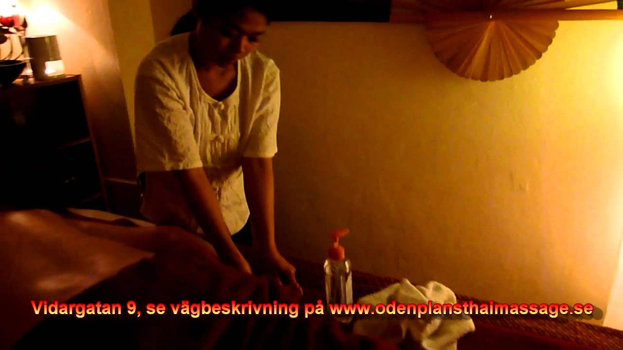 vidio thaimassage stockholm