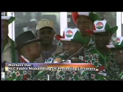 Workers Day: President Jonathan Vows To Bring Terrorists To Book
