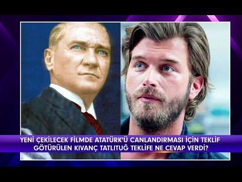 Magazin D - Kıvanç Tatlıtuğ'a, Atatürk rolü için teklif!