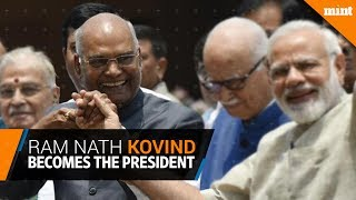 Ram Nath Kovind becomes the 14th President of India