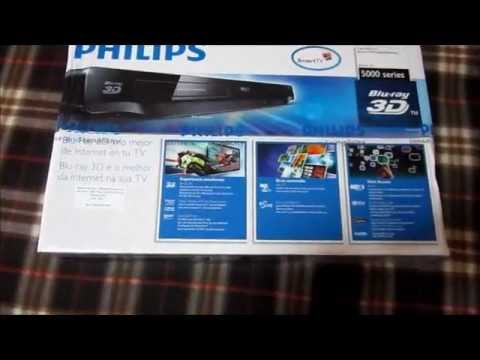 Unboxing BluRay Player Philips BDP 5200