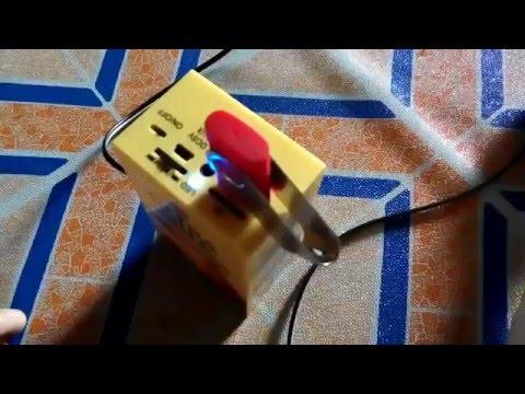 Uji Coba Tweeter Mini Bazooka Rakitan Menggunakan Pipa PVC