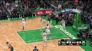4th Quarter, One Box Video: Boston Celtics vs. Milwaukee Bucks