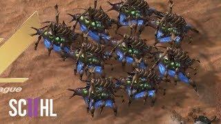 MARCH of the QUEENS! - Starcraft 2: Scarlett vs herO