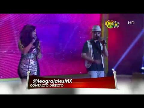 Leo Grajales canta en Premios Fama