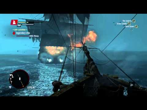 AC4: How To Kill Legendary Ghost Ship (PS4)