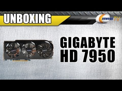 Newegg TV: GIGABYTE GV-R795WF3-3GD AMD Radeon HD 7950 Video Card Unboxing