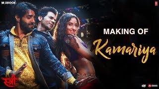 Making Of Kamariya Audio Stree Nora Fatehi Rajkummar Rao Aastha Gill Divya Kumar