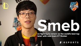 Smeb on fighting to remain as the world