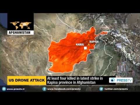 At Least Four People Killed By U.S. Drone Strike In Afghanistan