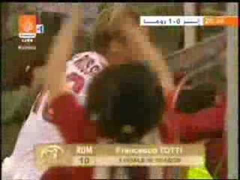 Inter - roma - totti - best goal ever!!! Video