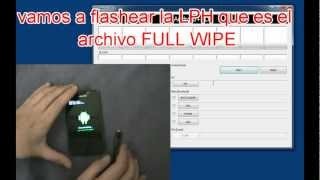 Galaxy S2 Install Android 4.0.3 Full Wipe LP9