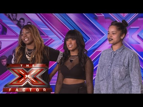 Arize sings Little Mix's Little Me - Audition Week 1 - The X Factor UK 2014