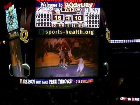 Welcome back Zydrunas Ilgauskas - Sacramento Kings @ Cleveland Cavaliers