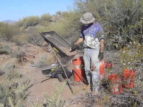 151 Drywasher Operation Near Wickenburg, AZ Combined