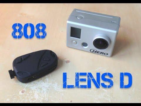 808 #16 V2 Lens D vs GoPro