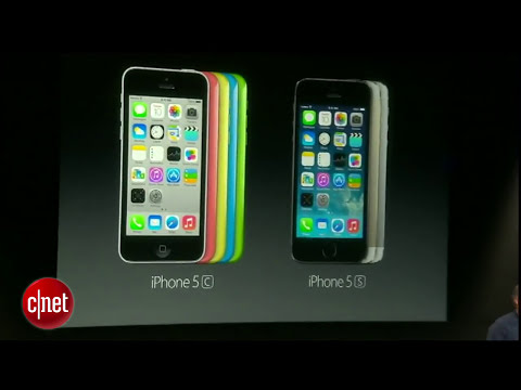 CNET News - Apple's iPhone 5S arrives in gold
