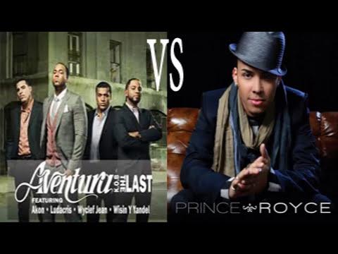 super bachata megamix de aventura y romeo santos vs Prince Royce 2014