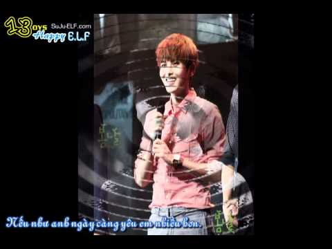 [happyelf's Vietsub] Ryeowook - If You Love More (ost Spy Myung Wol) [suju-elf] video