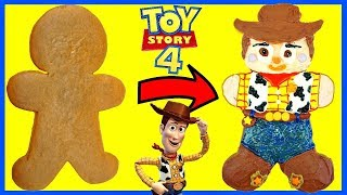 Toy Story 4 Sheriff Woody Inspired Gingerbread Man Cookie Decoration