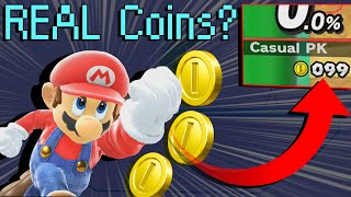 Does Mario's Up B INCREASE Your COIN COUNT? -- Random Smash Ultimate Facts