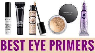 THE BEST EYE PRIMERS 2018