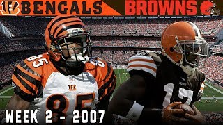 The Shootout by the Lake! (Bengals vs. Browns, 2007) | NFL Vault Highlights