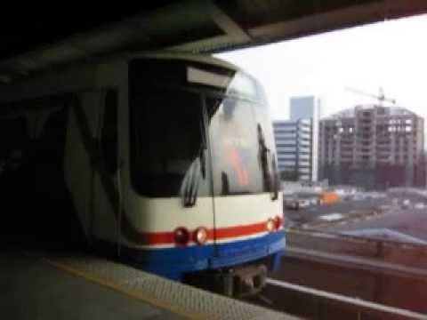 Bangkok Skytrain Leaving a Station (2005)