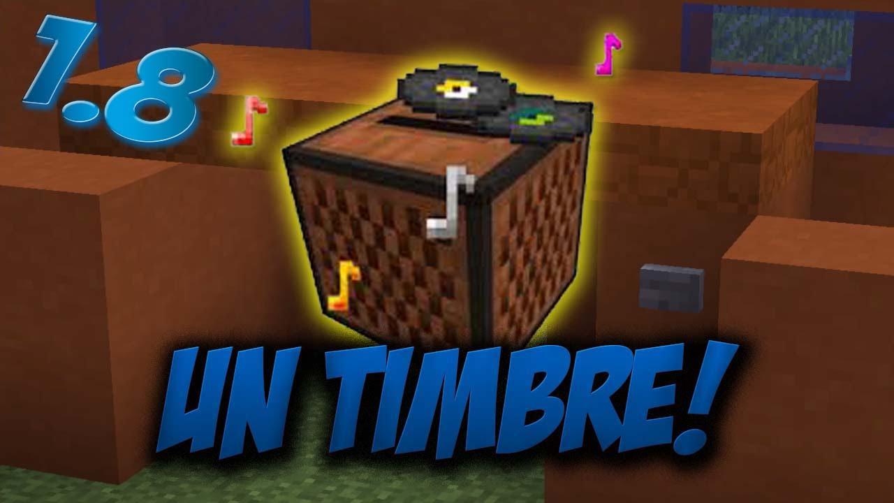 Como hacer un timbre de casa tutorial de redstone - Timbre para casa ...