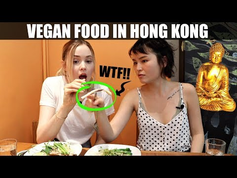 What Vegan Food in Hong Kong is Like | Eating Food With Foodies On Friday Ep. 6