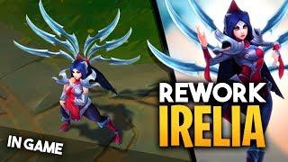 Irelia in Game: Rework | Habilidades y Animaciones | League of Legends