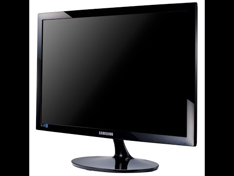 Unboxing/Unpacking, Installing Samsung 24 inch S24D300HL LED Monitor