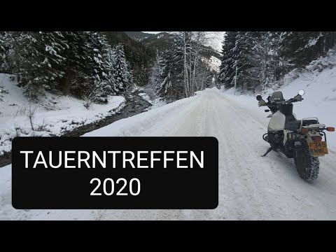Tauerntreffen 2020 Winter bike rally like the elefant treffen Krystall, Primus and dragon rally