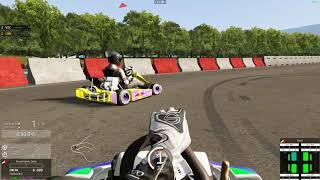 Assetto Corsa -- Circuito de Lignieres -- Go Kart 125 shifter -- Carrera