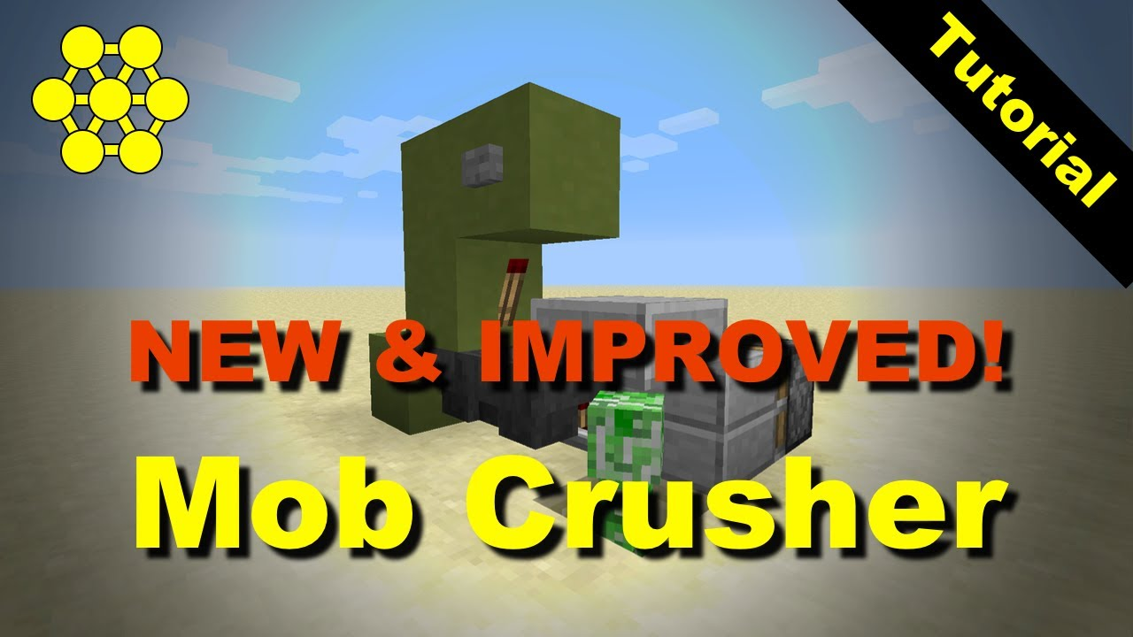 how to make a mob crusher