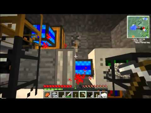 Lets play Minecraft-Tekkit Ep.8 : how to make a Solar Panel and a Wrench