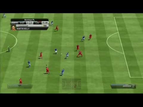 FIFA Soccer 13 – Liverpool vs Everton (Gameplay Video)