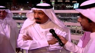 كلمة خادم الحرمين الشريفين بعد تفقده موقع حادثة الرافعة بالحرم المكي